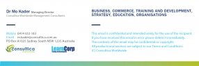 Consultica LearnCorp Email